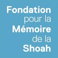 Logo Fonsation pour la mémoire de la Shoah