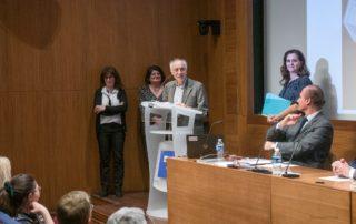 Remise du prix Ernest et Claire Heilbronn